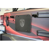 Spare Tire Carrier Delete Plate Wrangler JK
