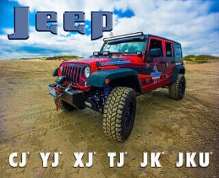 Jeep Parts - CJ, YJ, XJ, TJ, JK, JKU