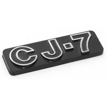 Jeep and Wrangler Emblems CJ-7