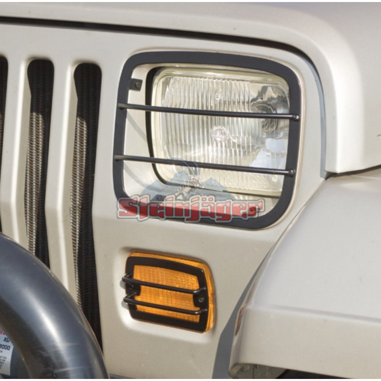 Wrangler YJ Lighting and Light Guards