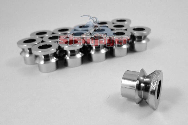 Rod End Misalignment Inserts For 3/4 Rod Ends V Style