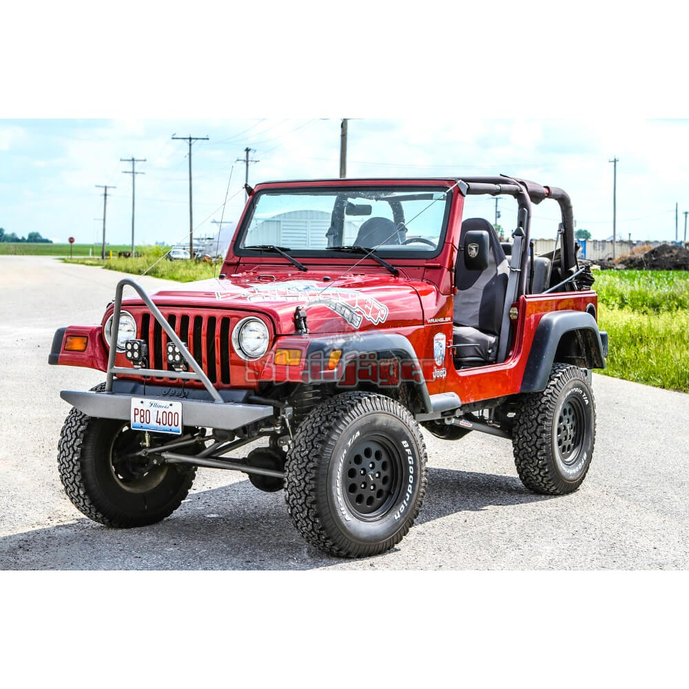 Jeep 4 Inch Lift >> Steinjager Jeep Wrangler Tj Tricked Out Package 1997 2006 4 Inch Lift Long Travel Kit Included Manual Transmission