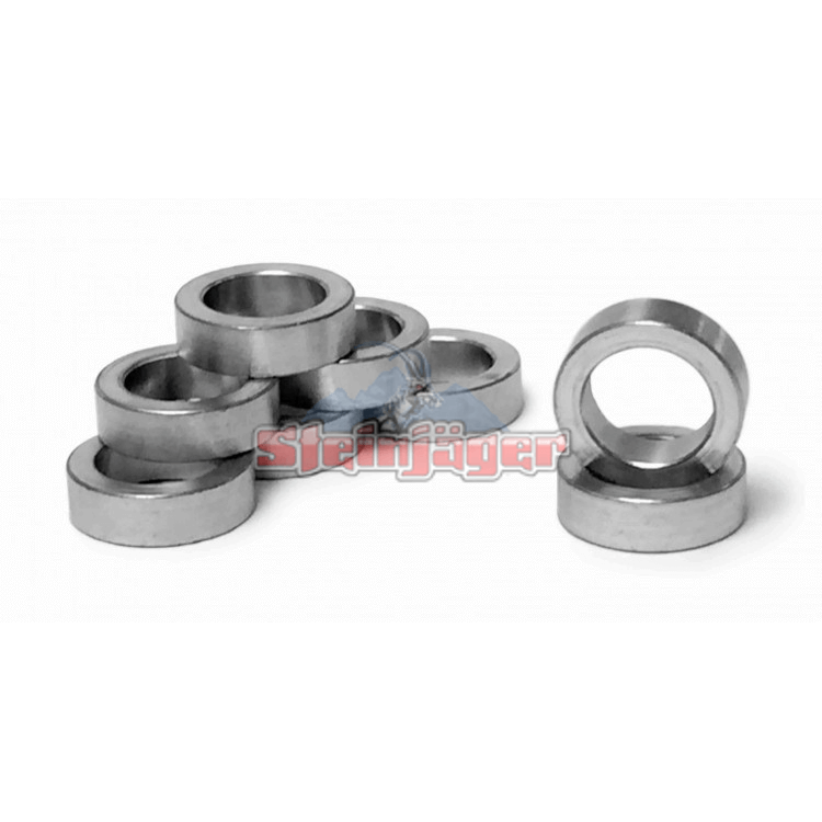 Rod End Spacers Bushing Style, Zinc Plated