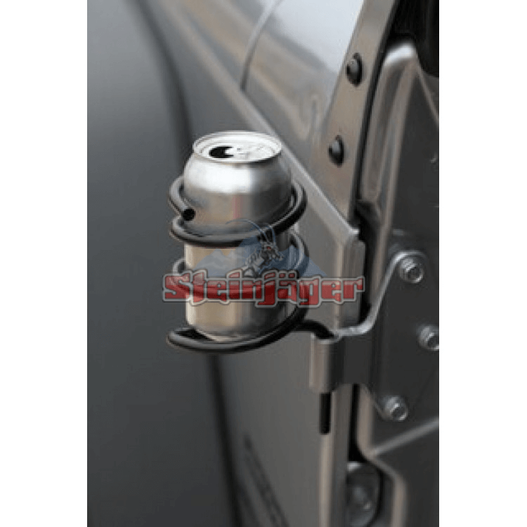 Wrangler JK Door Mounted Can Holder