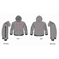 Gray Hoodies