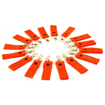 Orange Key Chain Fobs