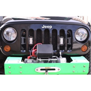 LED Lights and Brackets Wrangler JK