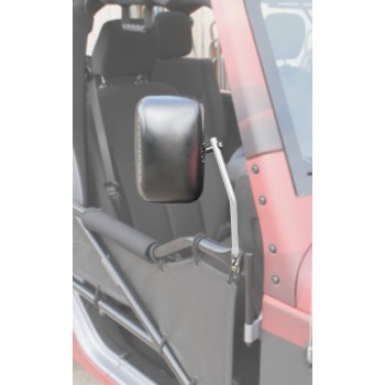 Mirror Kit, Tube Doors Wrangler JK