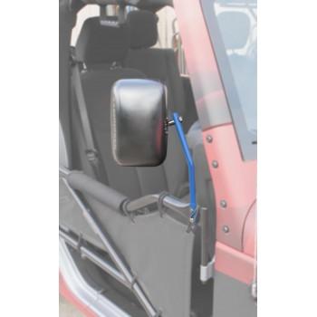 Mirror Kit, Tube Doors Wrangler JK