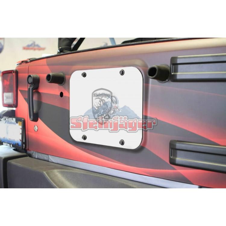 Wrangler JK Spare Tire Carrier Delete Plate