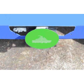 Neon Green Hitch Cover
