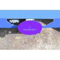 Sinbad Purple Hitch Cover