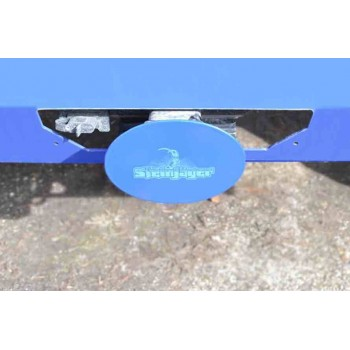 Playboy Blue Hitch Cover