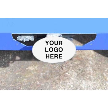 Cloud White Hitch Cover