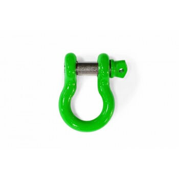 Neon Green D-Ring Shackle
