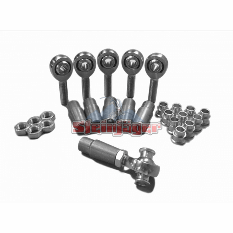 Rod End Kits Heims, Nuts, Bungs, Inserts