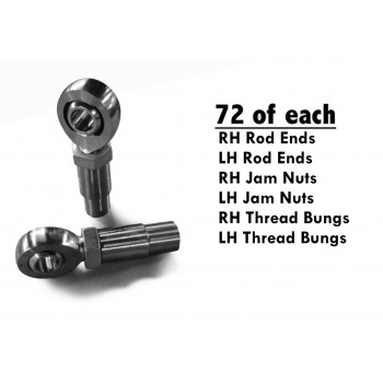 Heims, Nuts, Bungs Rod End Kits