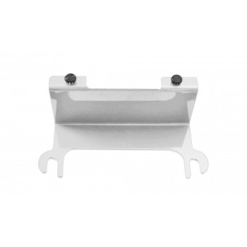 Cloud White License Plate Relocation Kit