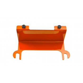 Fluorescent Orange License Plate Relocation Kit