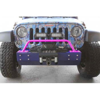 Bumper Light Bar, Short Wrangler JK