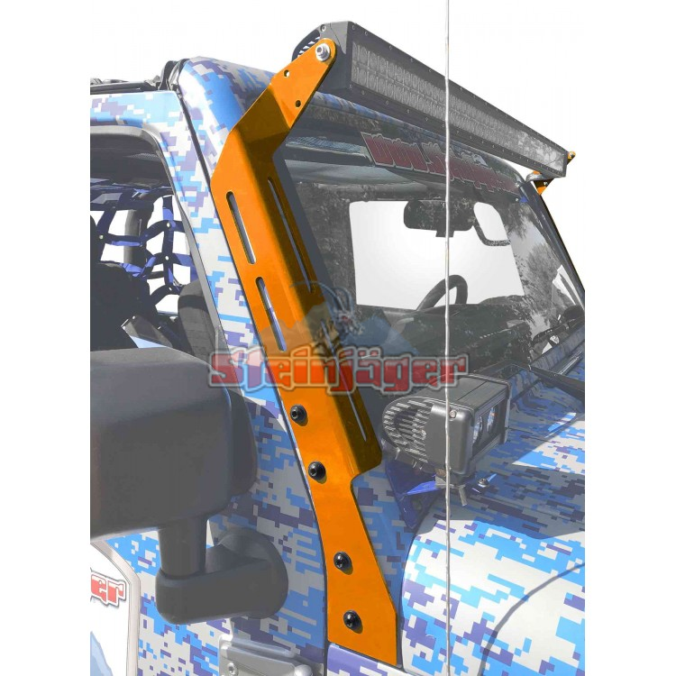 Wrangler JK Lighting and Light Guards