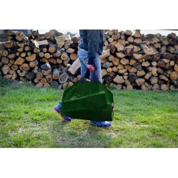 Dark Green Log Carrier