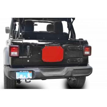 Spare Tire Carrier Delete Plate Wrangler JL