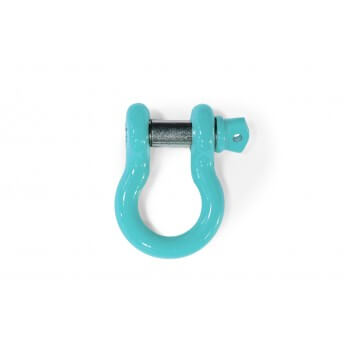Teal D-Ring Shackle