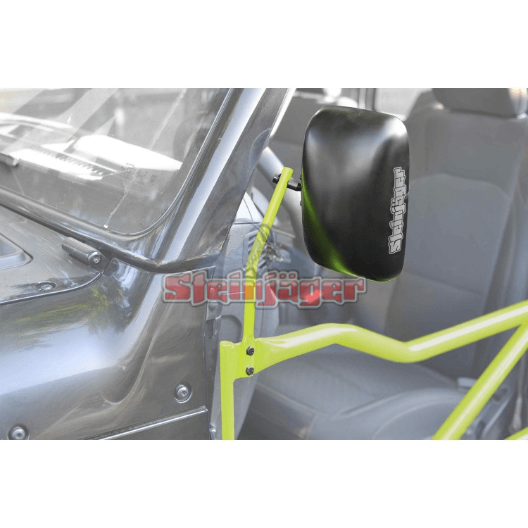 Wrangler JL Mirror Kit, Tube Doors