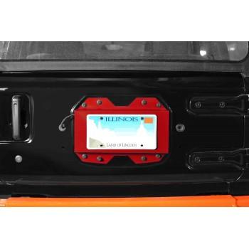 Rear License Plate Relocator  Wrangler JL