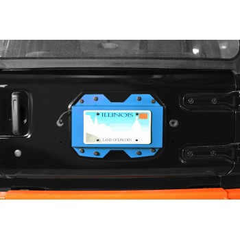 Rear License Plate Relocator  Wrangler JL