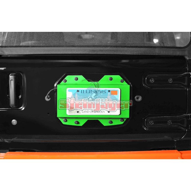 Wrangler JL Rear License Plate Relocator