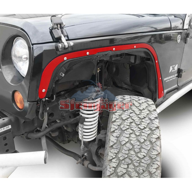 Wrangler JK Fender Deletes, Front