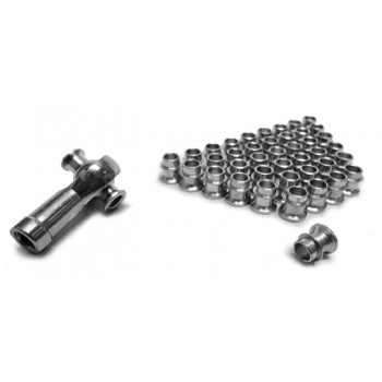 For 12mm Rod Ends Straight Style Rod End Misalignment Inserts