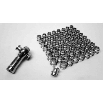 For 1 inch Rod Ends Straight Style Rod End Misalignment Inserts