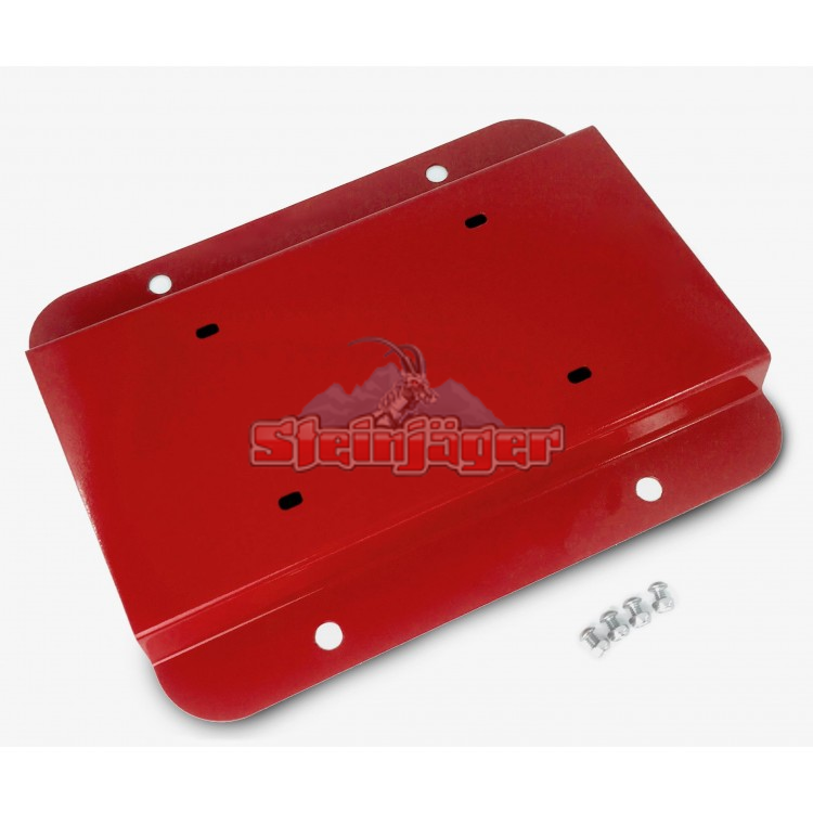 Wrangler JK License Plate Relocation Kit