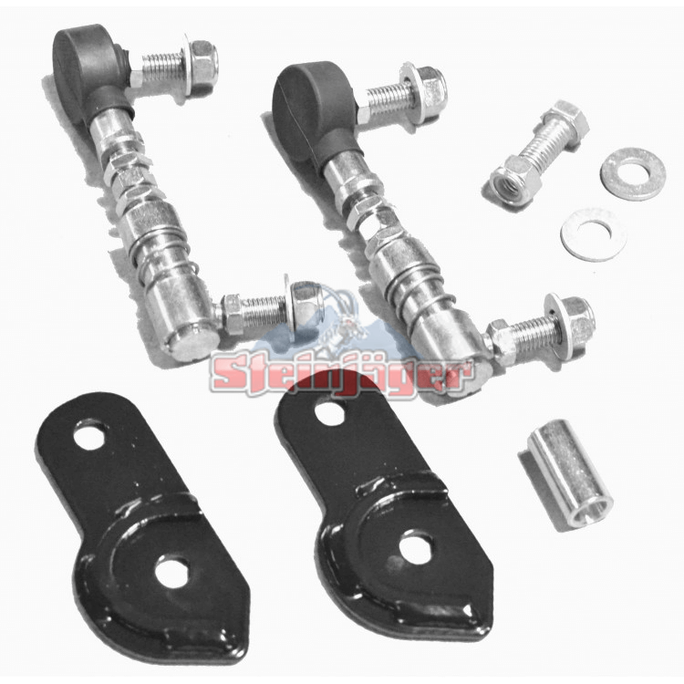 Wrangler JL Sway Bar Disconnect End Link Kit, Front