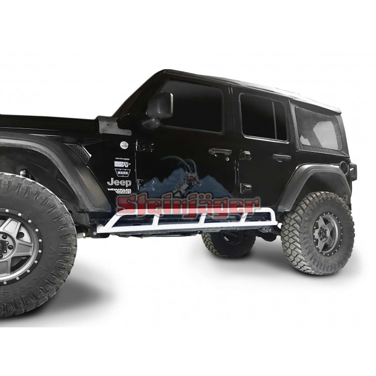 Wrangler JL Rock Sliders